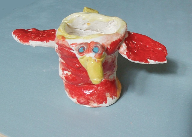 Birdcup, by Philip age 6.