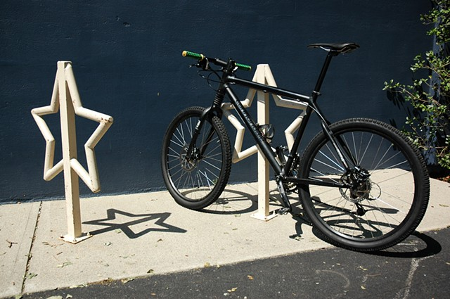 Seven Stars bakery Bike Racks