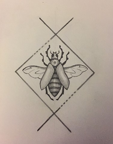 Beetle for Ashleigh (sketch)