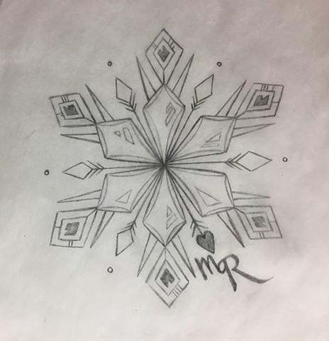 Snowflake for Jess (sketch)