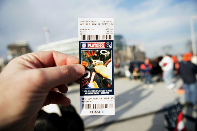 Playoff Ticket