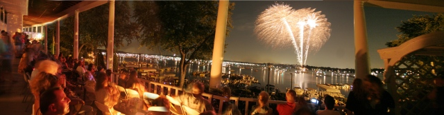 Fireworks Panoramic