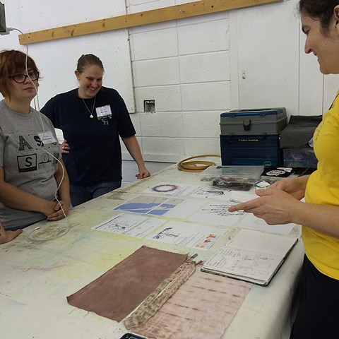 Instructor, One Week Workshop, Maps, Charts and Diagrams, Arrowmont, Tennessee