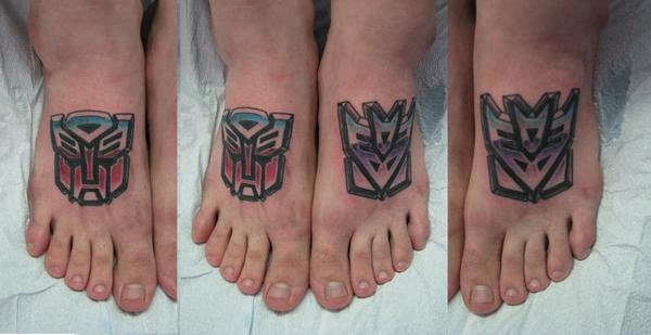 Transformers on a friend Greg