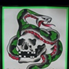 Sailor Jerry Skull Snake