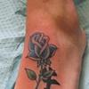 Rose with Kanji