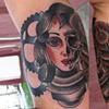 Tattoo on Shandra