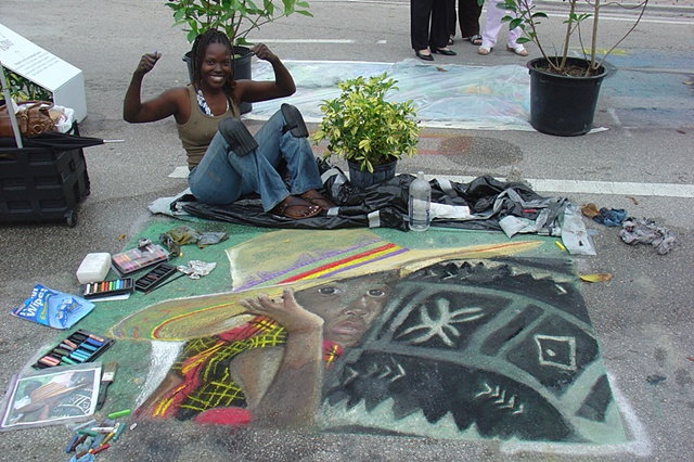 Street Painting Day 2