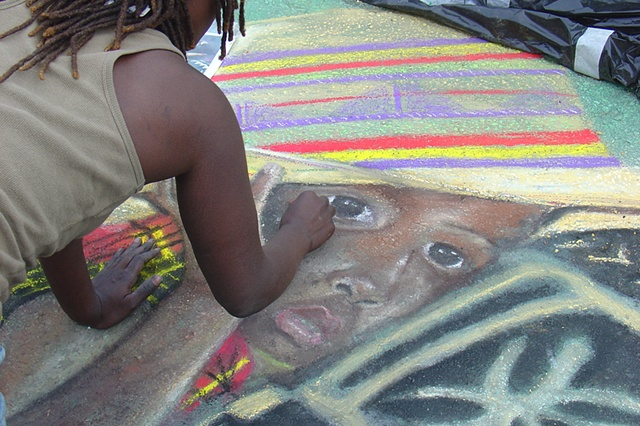 Street Painting Festival Day 2