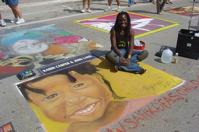 Street Painting 2007