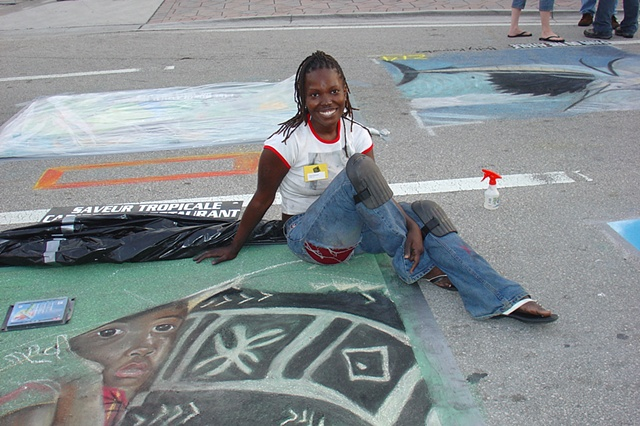 Street Painting Day 1