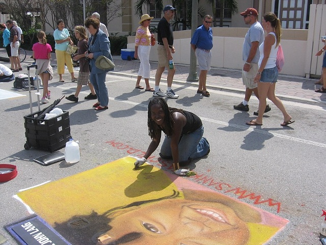 Street Painting Festival 2007