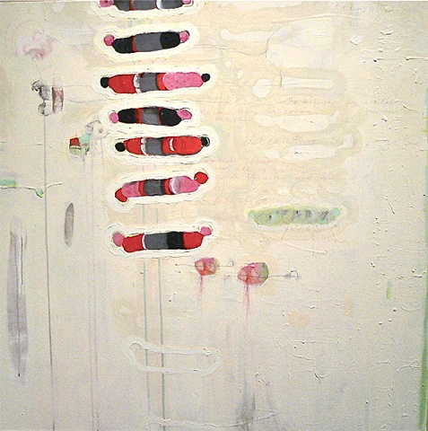 New Paintings 2009 large scale canvas