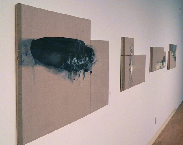2011 Paintings on Linen Stretched on Panel:  Fall/Winter