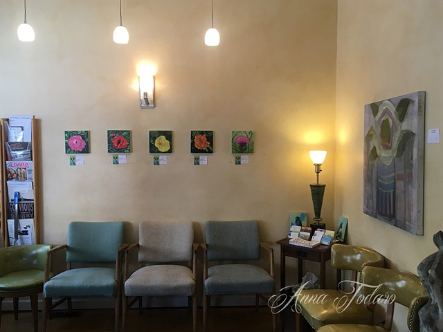 My Paintings at Chiropractic For Life in Andersonville