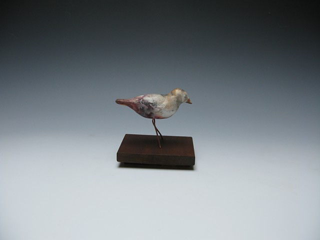 pit-fired bird