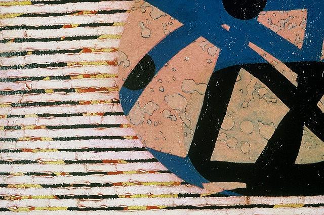 Three To Blue Dance (Detail)   1998