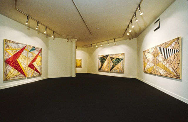 Installlation:  Solo show, Osuna Gallery, Washington, DC  1984