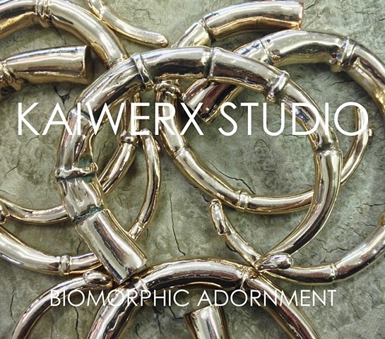 KAIWERX STUDIO BIOMORPHIC ADORNMENT JEWELRY LINE LAUNCH
