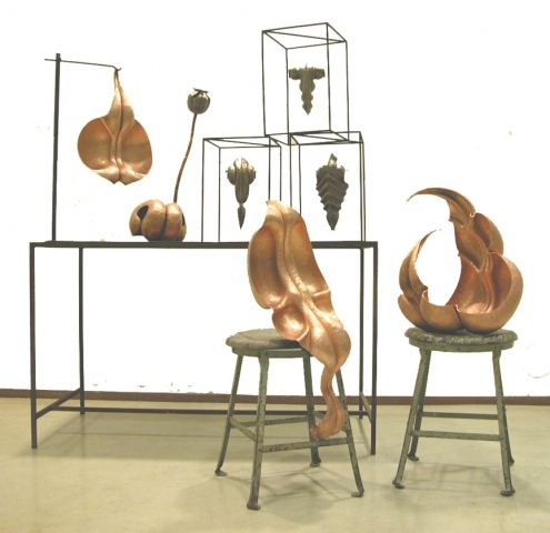 Kai Wolter, Metalsmith, Kaiwerx Studio, sculpture, copper