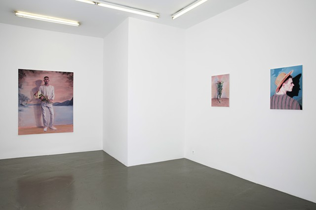 "Kris Knight  ""Throwing Shadows"" - Installation Shot"