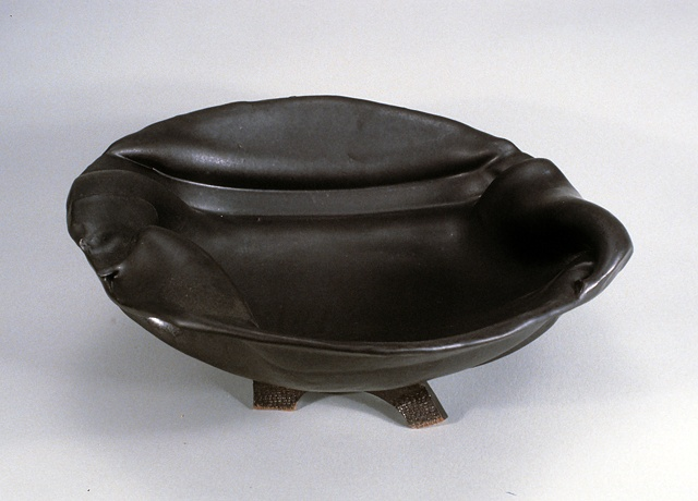 black slab bowl