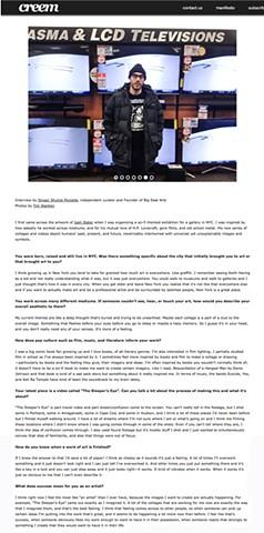 Creem Magazine Online. http://creemmag.com/josh-slater/