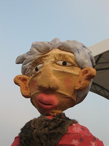 Grandma at Kaohsiung International Puppet Theatre Festival Taiwan