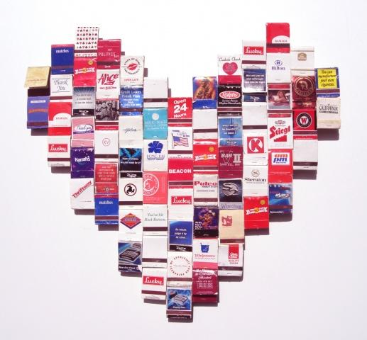 Untitled (Matchbook Heart)