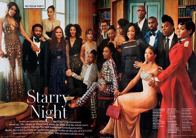 Vanity Fair April Issue Oscar Party