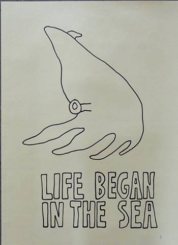 LIFE BEGAN IN THE SEA