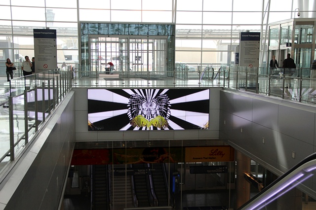 Perm Press- The American Cycle, Installed at Indianapolis Airport
