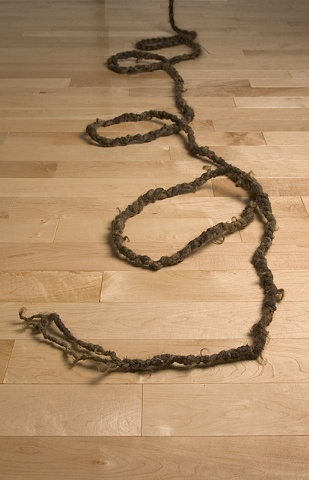 Pull Cord: detail, rope