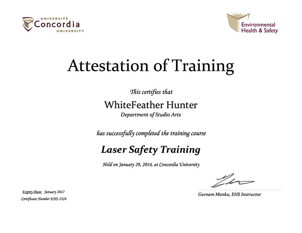 Laser Safety, Lab Safety Training Certification