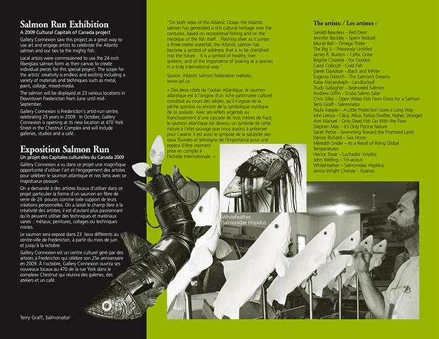 Salmon Run brochure: inside