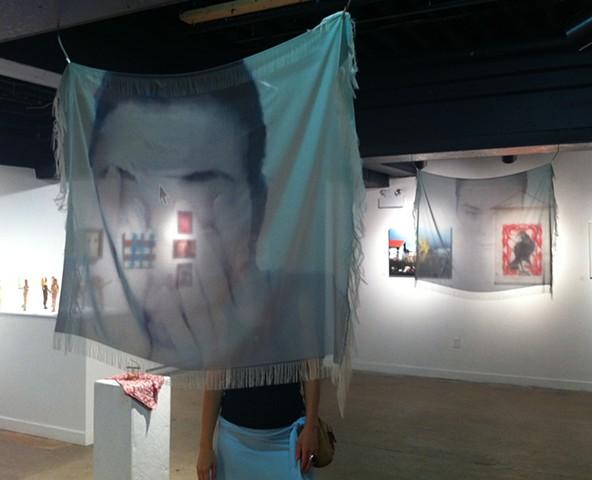 Bijou (diptych), installation