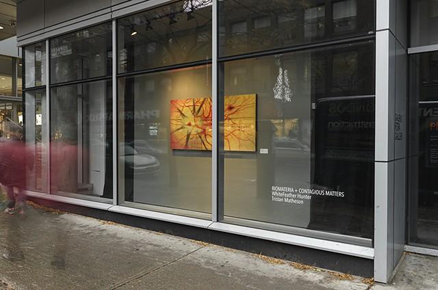 Biomateria + Contagious Matters, FOFA Gallery, Montreal