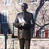 Relic ID # 655-5402, in situ: Jean Drapeau sculpture, Vieux Montreal