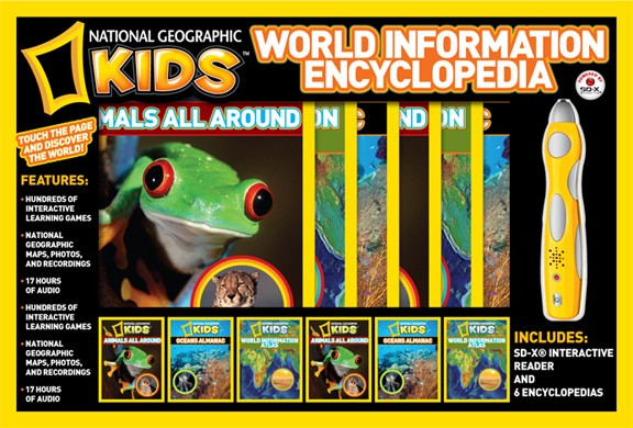 National Geographic - World Information Encyclopedia Boxed Set