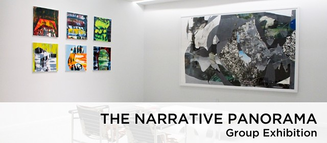 The Narrative Panorama Group exhibit Blank Space Gallery, NYC