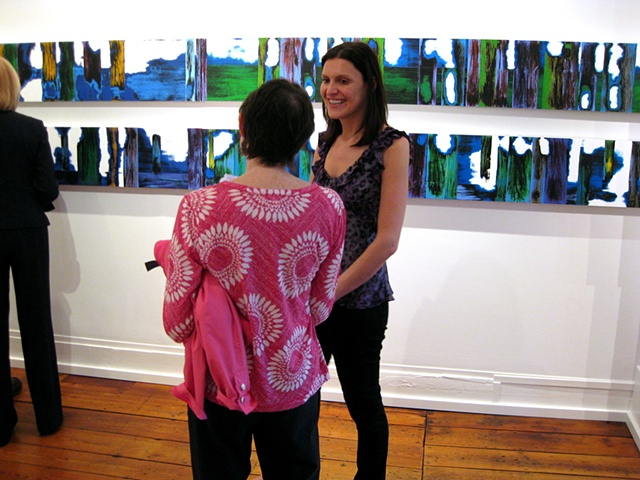 Opening for 'Long Distance' Bridgette Mayer Gallery May 2009