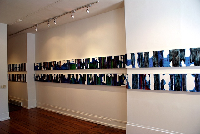 Installation for 'Long Distance' Bridgette Mayer Gallery Philadelphia, PA