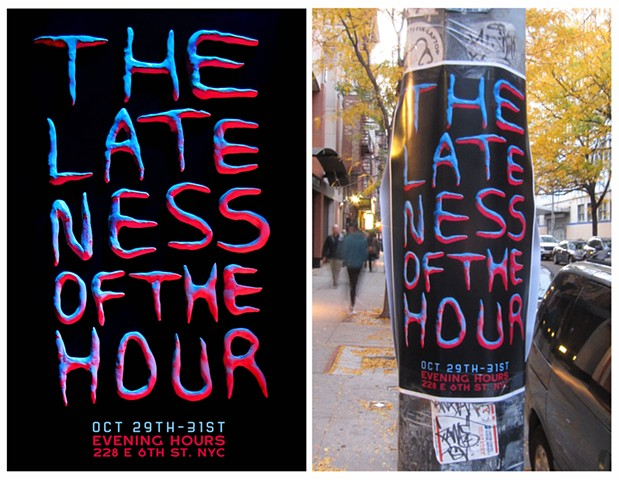 Promotional poster for Evening Hours.