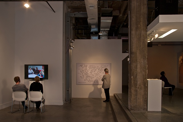 The Last Descendants exhibition, Paragraph Gallery, Kansas City, 2011                       photo by EG Schempf
