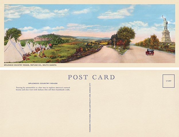 Splendid Country Roads, Refuge Co., South Dakota