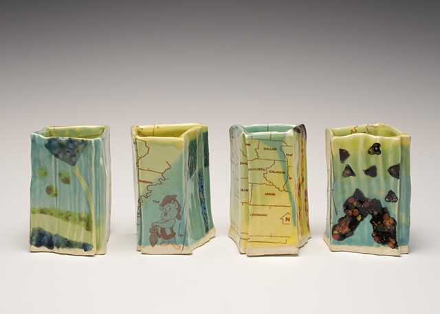 Arkansas Cups Madi Hutson, Ceramic Surfaces