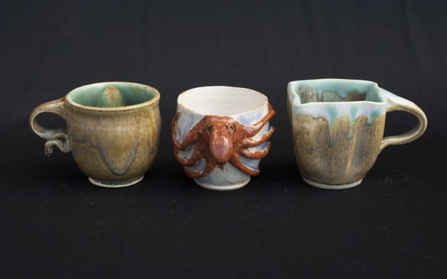 Altered Mugs Ceramics II: Throwing