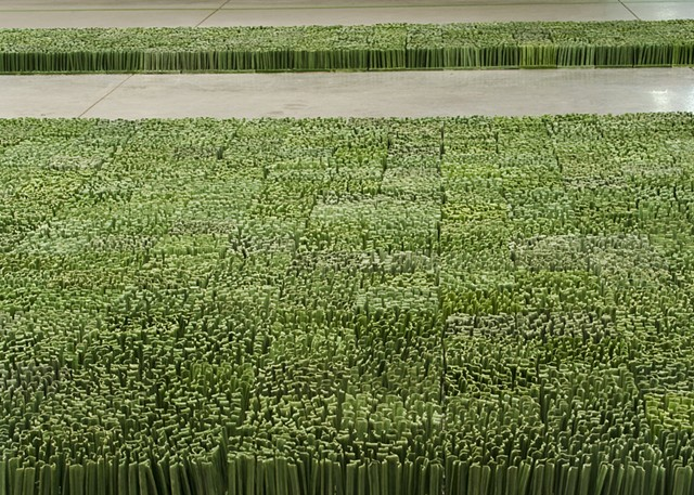porcelain lawn ceramic grass installation dawn holder