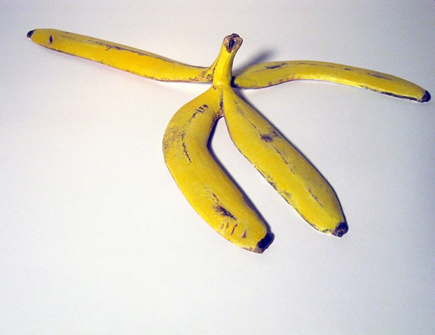 The Idea of Up (banana peel)
