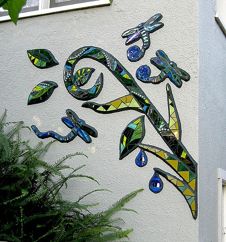 Side Vine Mural Close Up